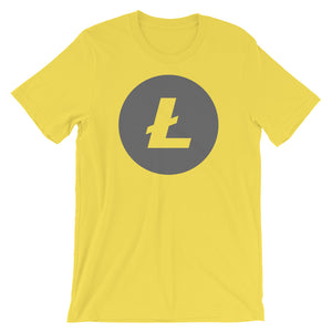 Litecoin Gray Short-Sleeve Unisex T-Shirt
