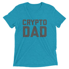 "Bitcoin Cryptocurrency ""Crypto Dad"" Father's Day / Birthday Gift Shirt 