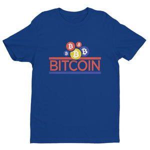 Bitcoin Wonder Bread Inspired Tee | Unique Bitcoin BTC Short Sleeve Athletic Fit T-shirt