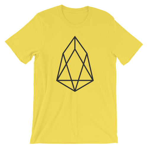 EOS Logo Tshirt | Cryptocurrency EOS.io Symbol Short-Sleeve Unisex T-Shirt