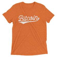 Bitcoin BTC Script Logo Shirt Short sleeve t-shirt