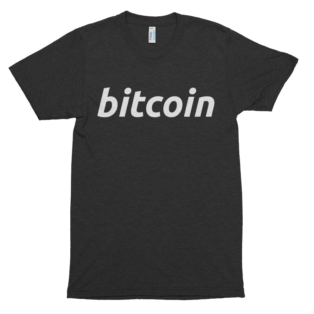 Bitcoin BTC Simple Logo American Apparel Shirt Short sleeve soft t-shirt