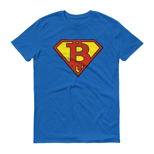 Bitcoin Superman Logo Tshirt