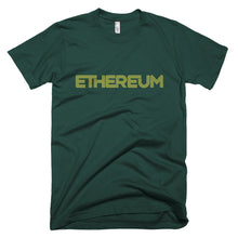Ethereum ETH Connecting Lines Unique Crypto Short-Sleeve T-Shirt