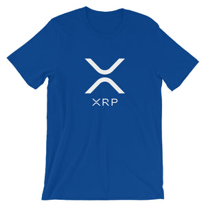Ripple XRP Logo Cryptocurrency Short-Sleeve Unisex T-Shirt