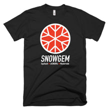 Snowgem XSG Logo Symbol Cryptocurrency Shirt Short-Sleeve T-Shirt