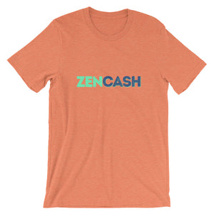 ZenCash Zen Tee | Cryptocurrency Short-Sleeve Unisex T-Shirt