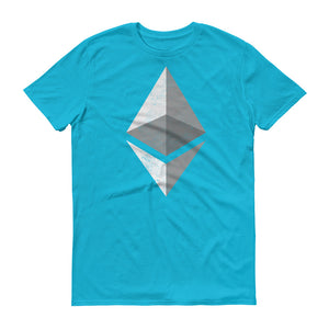 Ethereum Logo (Distressed) Short-Sleeve T-Shirt