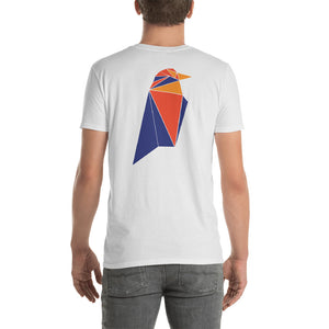 Ravencoin RVN Front / Back Printed Cryptocurrency X16r TShirt Short-Sleeve Unisex T-Shirt