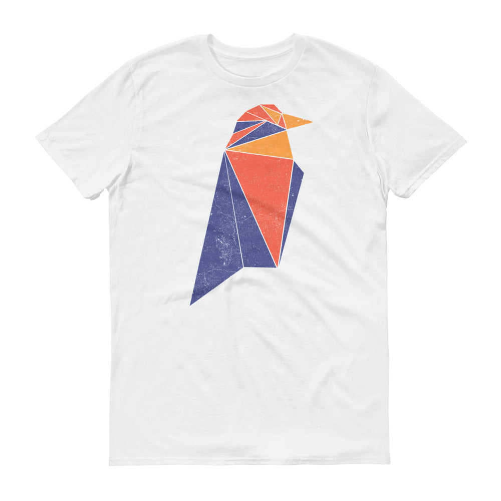 Ravencoin Logo (Distressed) Short-Sleeve T-Shirt