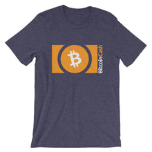 Bitcoin Cash (BCH) Logo Cryptocurrency Shirt | Short-Sleeve Unisex T-Shirt