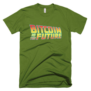 Bitcoin is the Future BTC Unique T Shirt