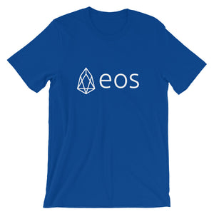 EOS Cryptocurrency Logo Tshirt | Short-Sleeve Unisex T-Shirt