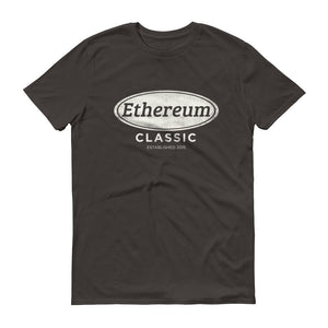 Ethereum Classic Established 2015 Tee | Cryptocurrency ETC Short-Sleeve T-Shirt