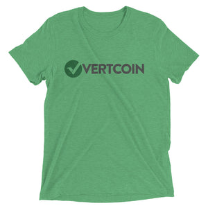 Vertcoin VTC Logo Symbol (Distressed) Short sleeve t-shirt
