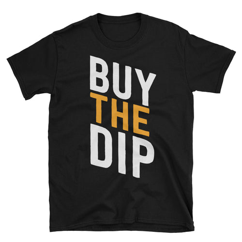 Bitcoin Buy The Dip Tshirt Black