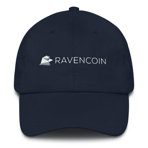 Ravencoin Raven Coin RVN Embroidered Dad hat