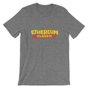 Ethereum Classic ETC Toy Story Logo Tee | Cryptocurreny Short-Sleeve Unisex T-Shirt