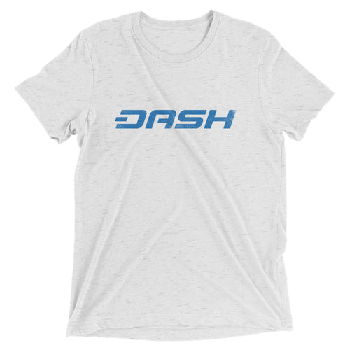 Dash Blue Logo Vintage Look Tshirt | Short sleeve t-shirt