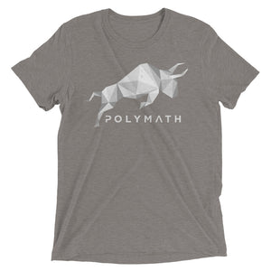 Polymath POLY Coin (Distressed) Logo Symbol Shirt Short sleeve t-shirt