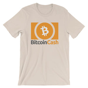 Bitcoin Cash (BCH) Logo / Symbol Tshirt | Cryptocurrency Short-Sleeve Unisex T-Shirt