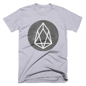 EOS Logo Tshirt | Cirlce EOS.io Cryptocurrency Short-Sleeve T-Shirt