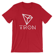 TRON TRX New Logo / Symbol Cryptocurrency Tshirt | Short-Sleeve Unisex T-Shirt