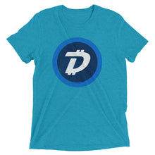 Digibyte DGB Distressed Logo Symbol Cryptocurrency Shirt Short sleeve t-shirt