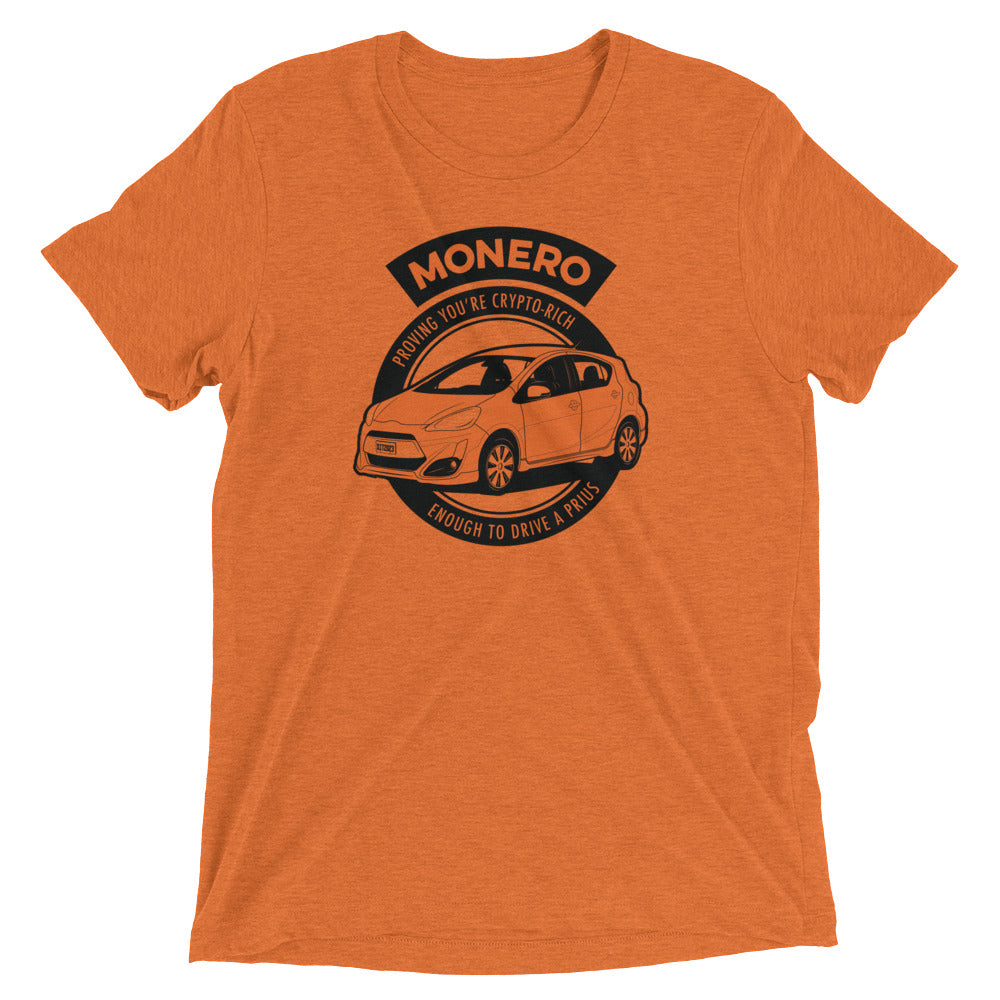 Crypto-Rich T-Shirt (Heather Orange)