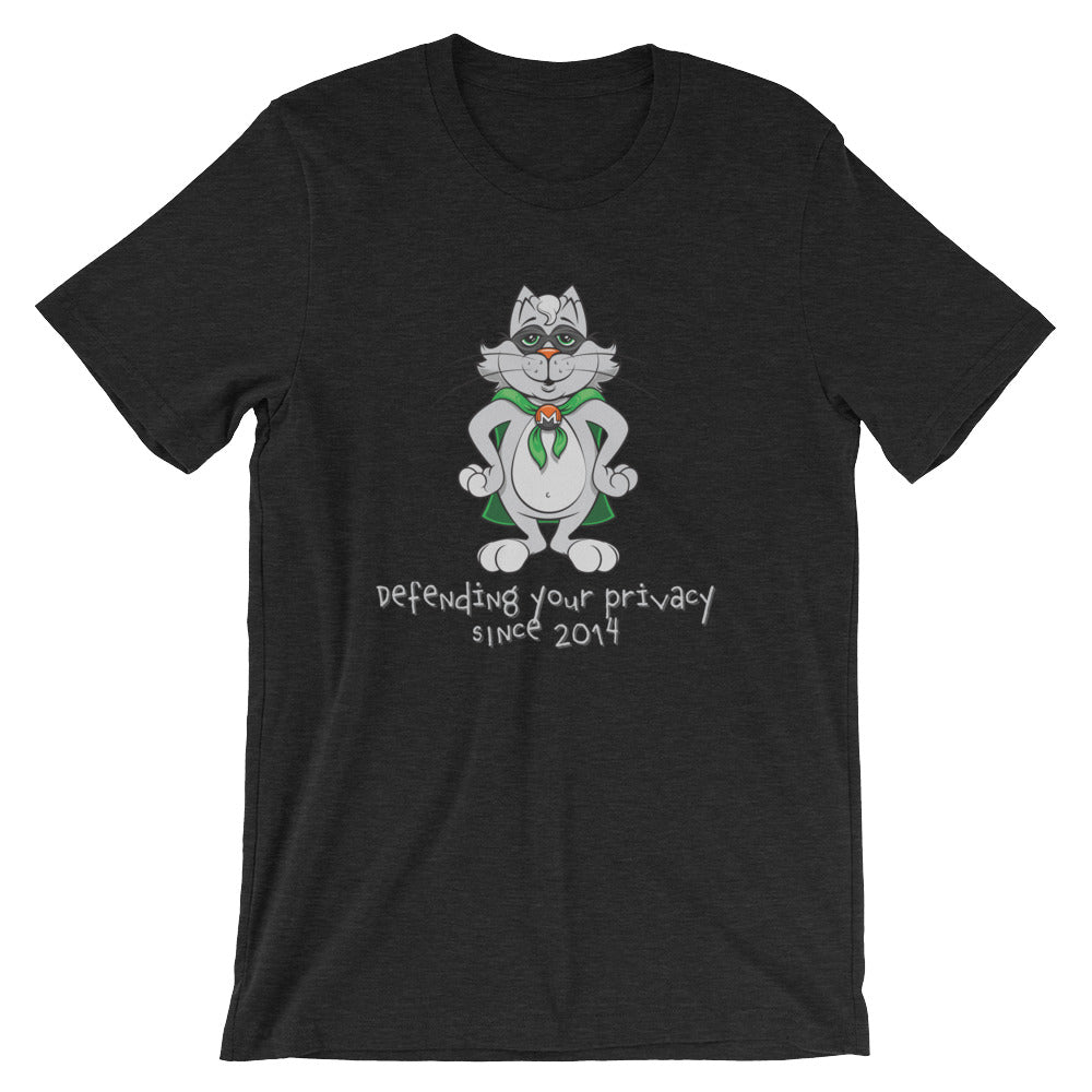 Monero Cat T-Shirt (Black)