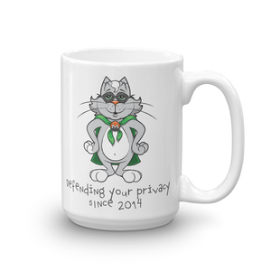 Monero Cat Mug (White)