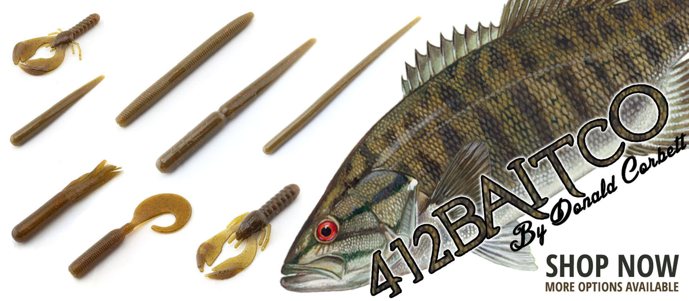 412 Bait Co Soft Plastics