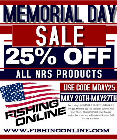 Memorial Day Sale 25% OFF NRS Products