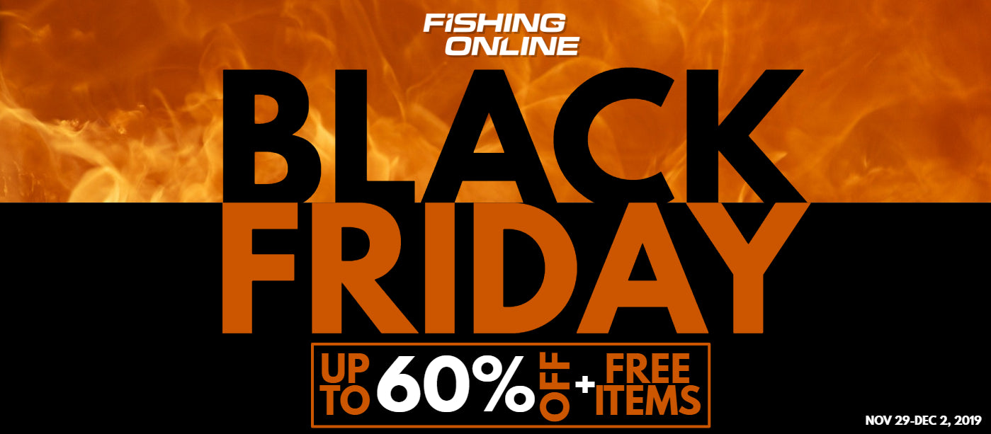 Black Friday Deals at Fishing Online
