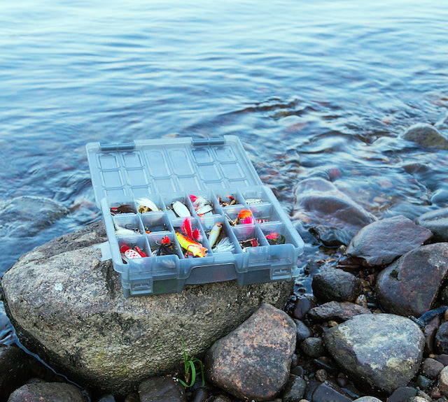 Container of Lures
