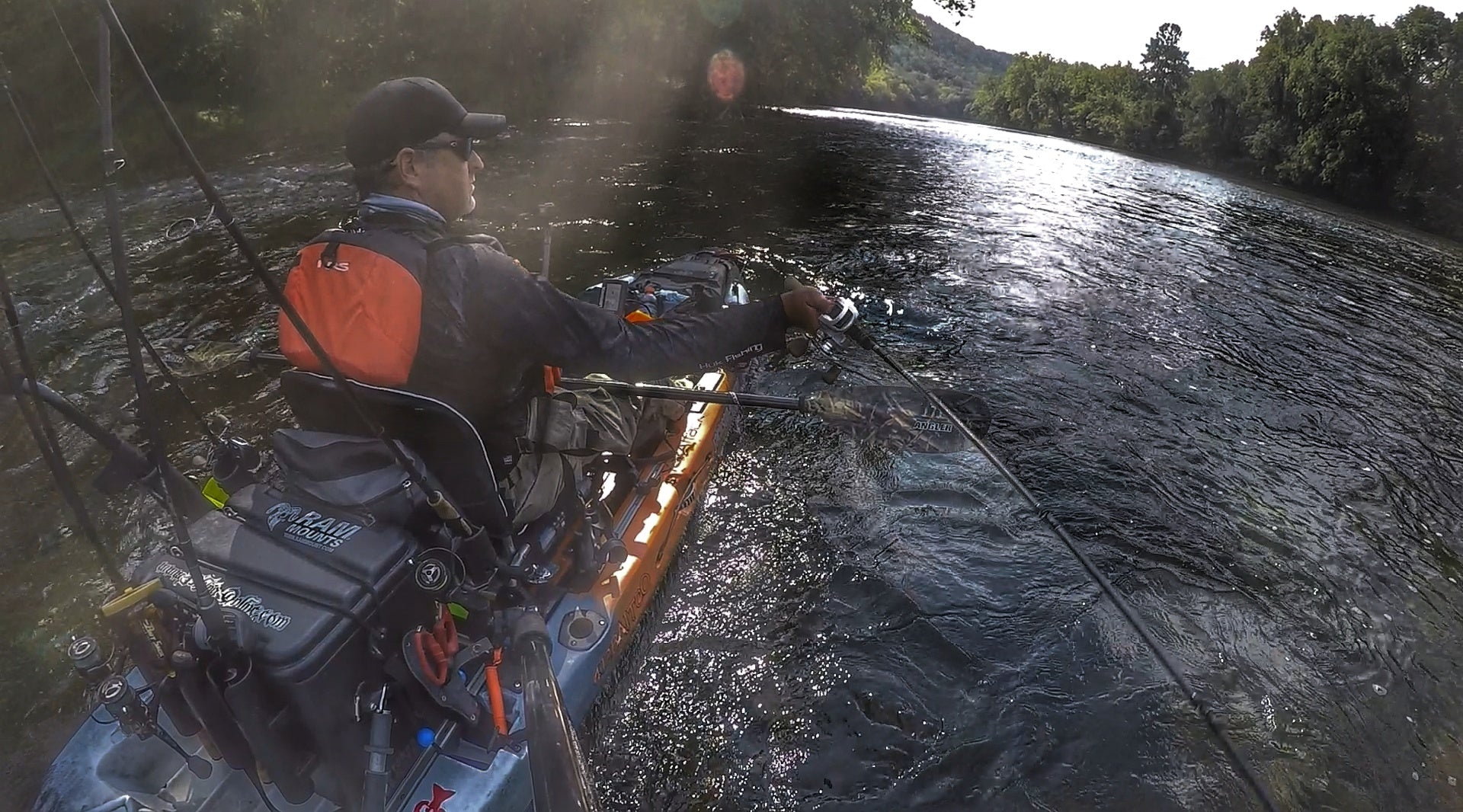 Matt Ball Kayak Fishing Tip