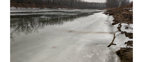 Icey River Conditions