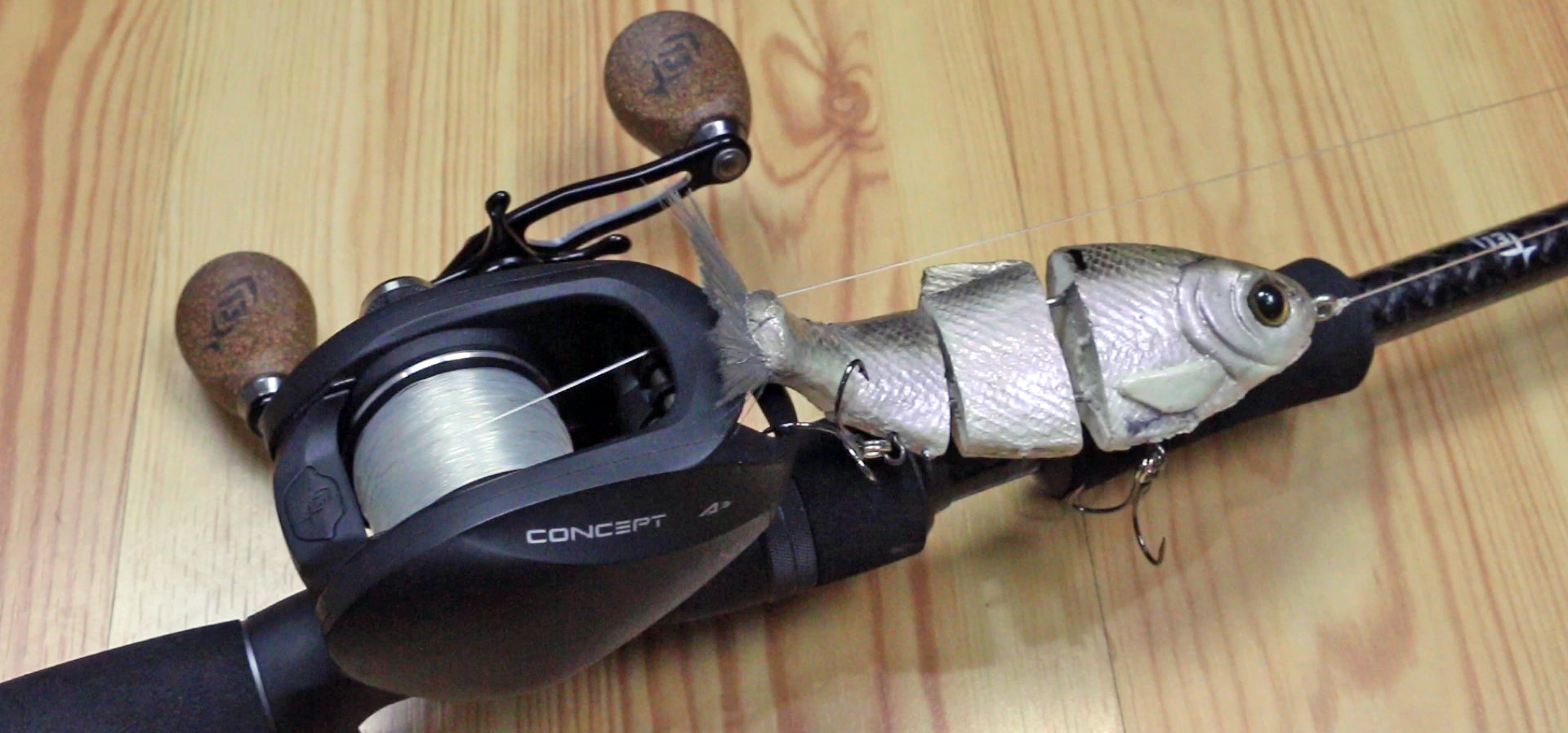Bull Shad Swimbait Rod and Reel