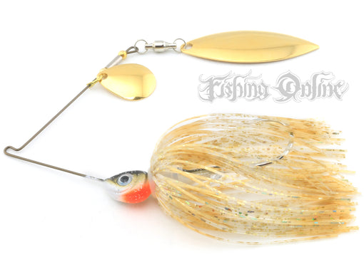 412 Bait Co. Phase IV Spinnerbait [1/4 oz. Dreamsicle]