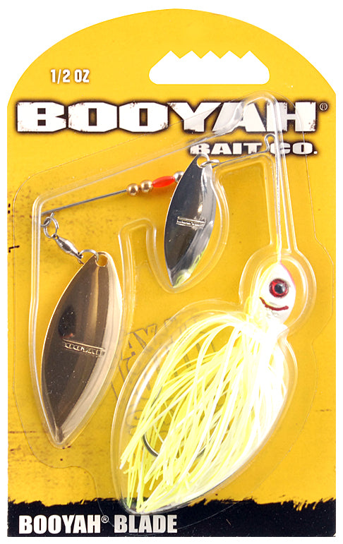 Booyah Bait Co. Booyah Blade Spinnerbait [1/2 oz Chartreuse White (Willow)]