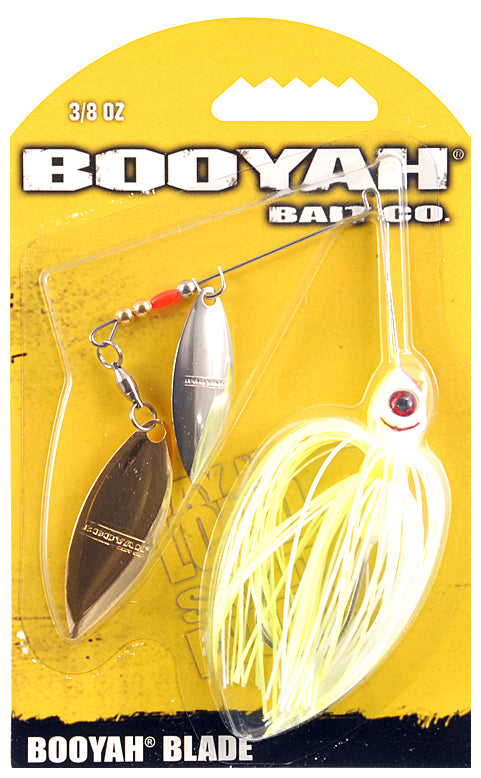Booyah Bait Co. Booyah Blade Spinnerbait [3/8 oz Chartreuse White (Willow)]