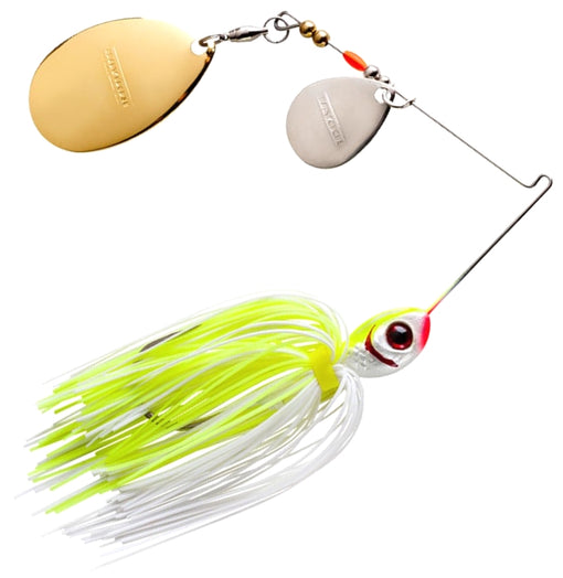 Booyah Bait Co. Booyah Blade Spinnerbait [3/8 oz White Chartreuse (2 Colorado)]