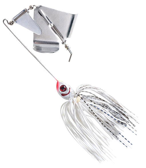 Booyah Bait Co. Booyah Buzz Buzzbait [3/8 oz Snow White Shad]