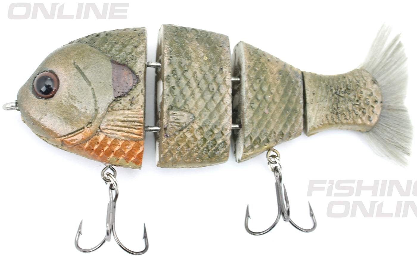"Bull Gill Swimbait 5/"" Dirty BoneSlow Sink"