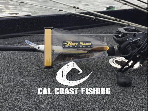 Cal Coast Fishing Bait Sack Lure Protector - Two Rod Clips Included