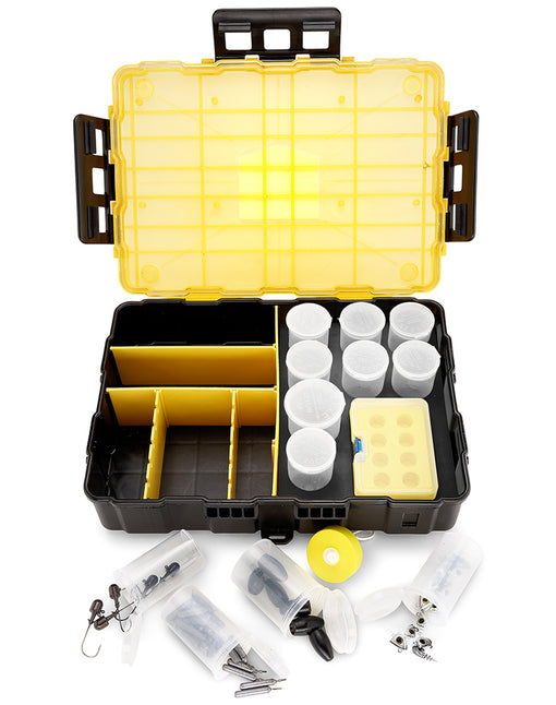 Cal Coast Fishing Battle Box with Ammo Cans, Dividers and Tackle Mag