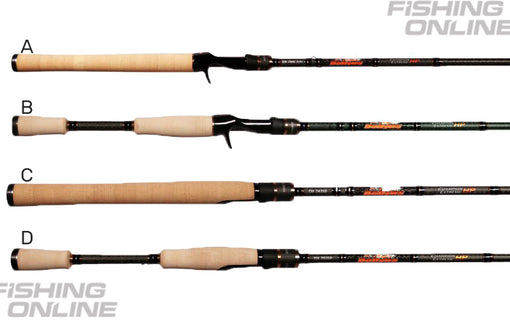 Dobyns Champion Extreme HP Series Rods - Handle Options