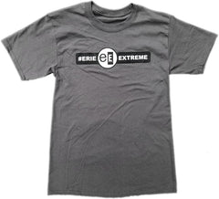 Erie Extreme Logo T-Shirt Steel Grey