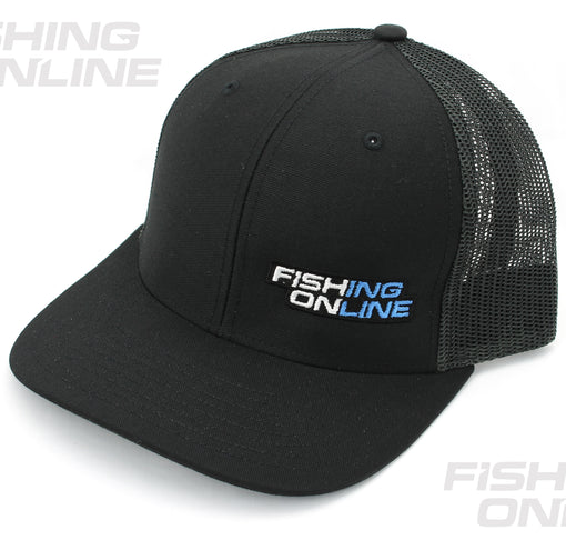 Fishing Online Trucker Hat - Black