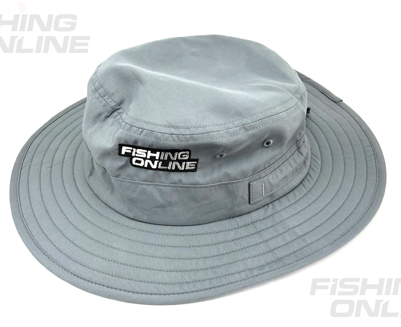 afbbacefd465 Fishing Online Wide Brim Sun Hat [Light Grey]